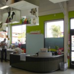The Cashwrap and Treat Bar